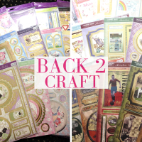 Hunkydory crafty toppers offer at Back 2 Craft in Walsall