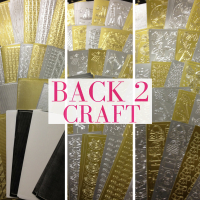 Amazing 'Peel Offs' Offer at Back 2 Craft!