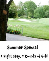 Summer Special offer – 1 Night, 2 Rounds of Golf @KingswoodLodge