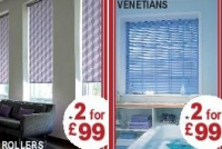 2 for £99 on blinds from Bob the Blindman