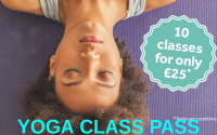 Yoga Class Pass - 10 classes for £25*
