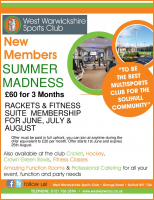 New Members Summer Madness