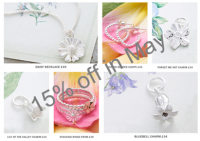 15% off all Jewellery from Equinox Silver in May