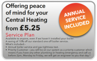 SERVICE PLAN JUST £5.25 PER MONTH