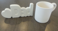 Fathers Day Mug or Lettering