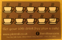FREE COFFEE AND CAKE WITH YOUR LOYALTY CARD