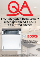 FREE Bosch Dishwasher with your QA Kitchen