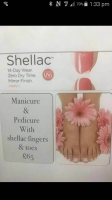 Manicure & Pedicure with Shellac Fingers & Toes