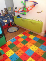 LEGO CUSHION VINYL JUST £4.99 PER SQ YD