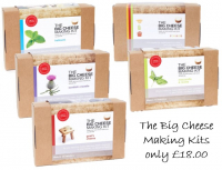 The Big Cheese Making Kits now £18