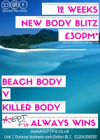 12 Weeks Body Blitz only £30 per month!