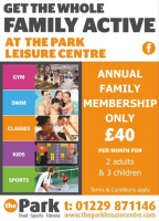 Family Gym Membership for just £40 per month!