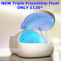 Save £45 on a Triple Friendship Float Experience