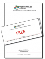 FREE compliment slips when you buy letterhead at Promotion House!