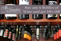 Buy 6 Bottle of Wine and get 10% Off
