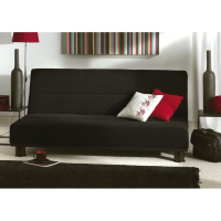 triton sofa bed, sofa in black - Brighton Bed Centre Store