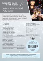 Christmas Party Venues in Bromsgrove