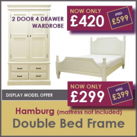 Hamberg bedroom furniture offer