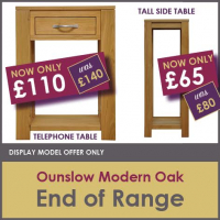 OUNSLOW END OF RANGE OFFER