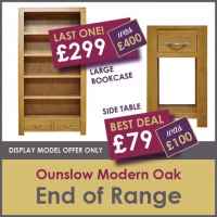 OUNSLOW END OF RANGE DEALS