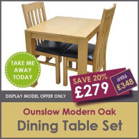 OUNSLOW SMALL DINING SET