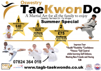 Summer Special Offer - Oswestry Tae Kwon Do