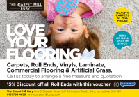 The Carpet Mill roll end discount