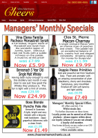 Managers Monthly Specials