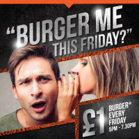 Villag Hotel Bury burger offer