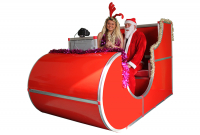 Santa Sleigh Photobooth Hire for only £549