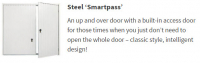 smartpass, garage door, up and over, door