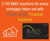 £100 of M&S Vouchers with every Mortgage