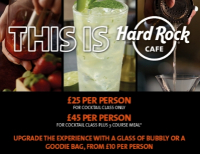 'Shake It Up' Cocktail Classes at Hard Rock Cafe Manchester