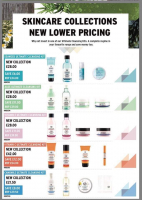 Skincare Collections New Lower Pricing