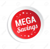MEGA SAVINGS!!