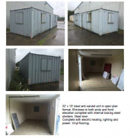 Maxispace secure steel anti vandal unit available..