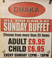 Dhaka Sunday Buffet
