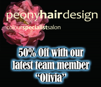 Introductory Offer with Olivia 50% Off