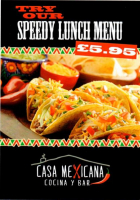 casa lunch offer