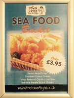 Sea Food Basket only £3.95