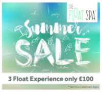 floatation tank experience, summer offer, the float spa - Brighton Hove