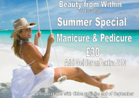 MANICURE & PEDICURE JUST £30