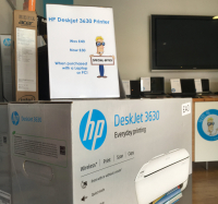 HP Desklet printer just £40...or just £30 with any laptop or PC.