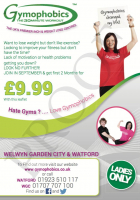 gymophobics, september, offer, welwyn , garden, city