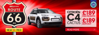CITROEN CACTUS C4 - £189 PER MONTH WITH £189 DEPOSIT