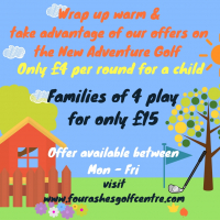 Adventure Golf Winter Offer