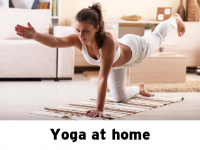 20% OFF One hour home Yoga session!