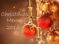 Christmas Party Menu 2016