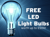Claim your FREE LED light bulbs!