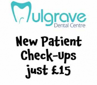 New Patient Check-Ups just £15 at Mulgrave Dental Centre